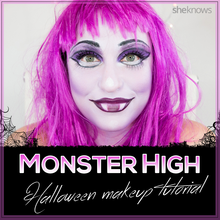 Monster High Halloween makeup