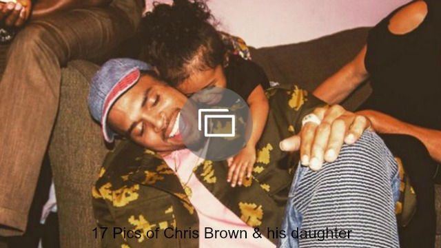 chris brown daughter slideshow