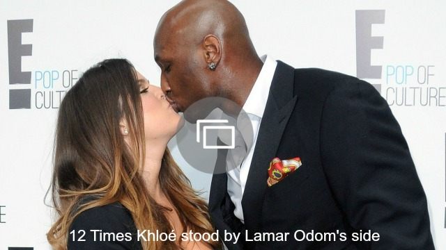 Khloé Kardashian is looking to the future, but Lamar Odom may be slipping back into the past