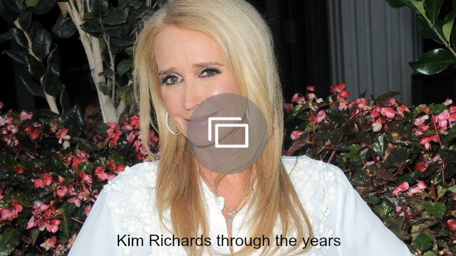 Kim Richards looks like she's doing great – and she may have to thank her grandson for that