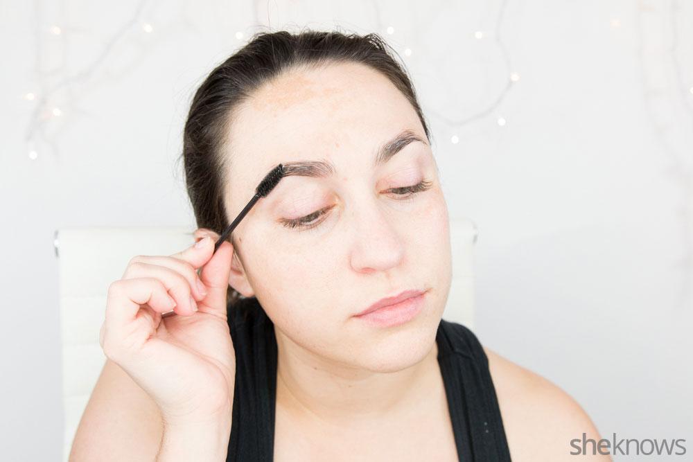 Ghoulish glam Halloween makeup tutorial: Step 2