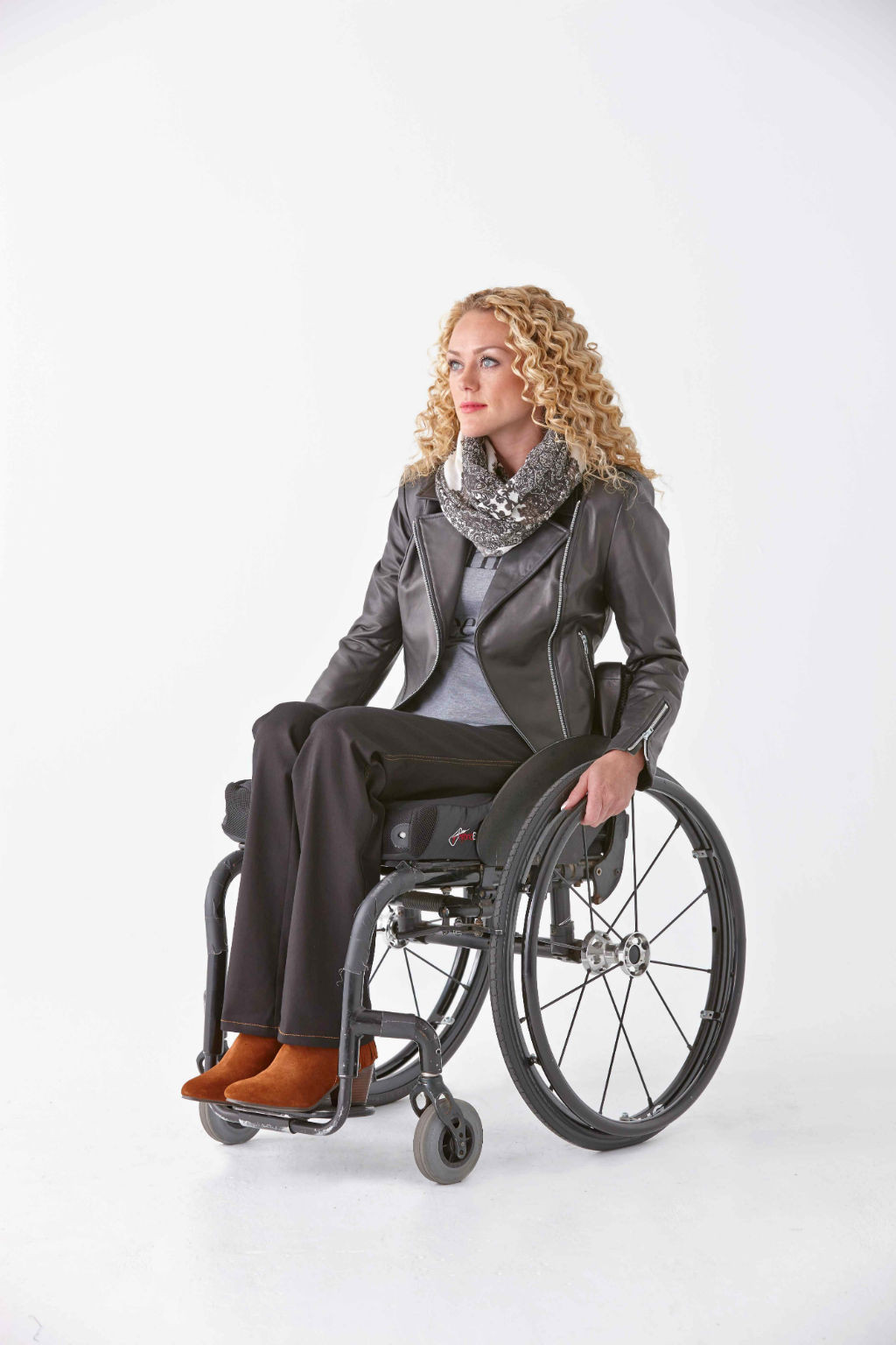 Designer creates accessible fashion for wheelchair users