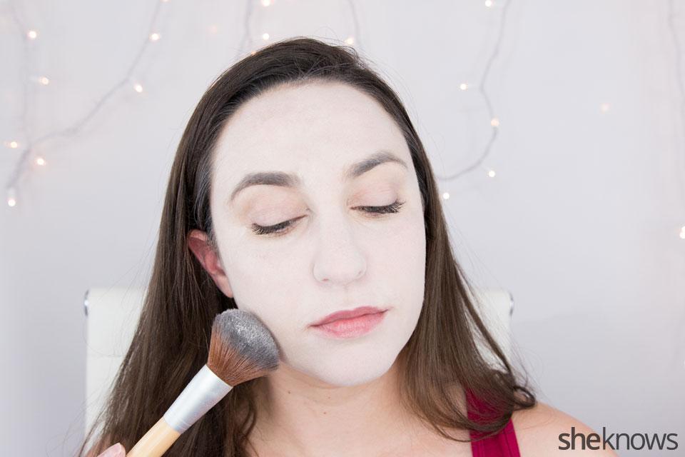 Harley Quinn makeup tutorial: Step 2