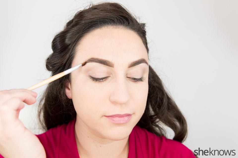 Classic Wonder Woman makeup tutorial: Step 1
