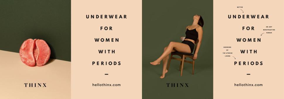 Thinx ads