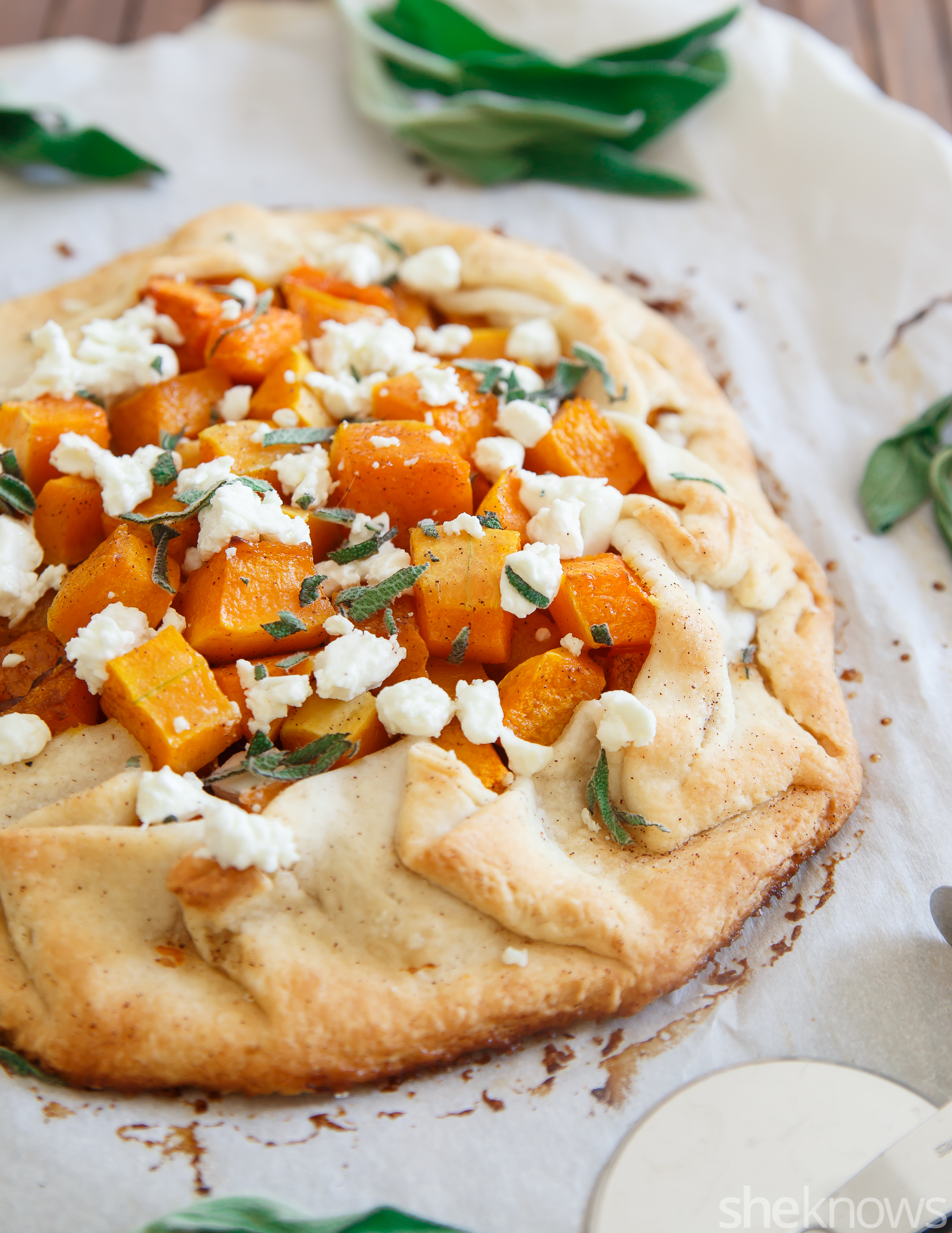 An impressive butternut squash galette comes together so easily with ...