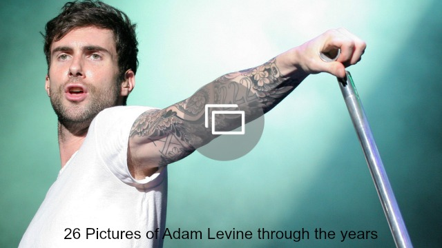 adam levine through the years