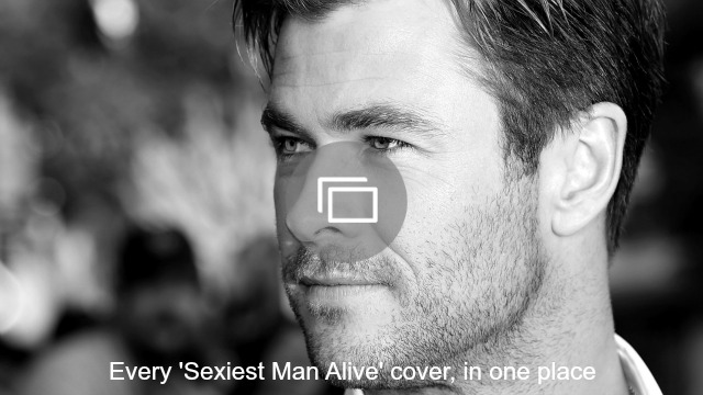 sexiest man alive slideshow