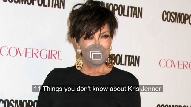 Thankfully, Kris Jenner is fine after her car crash because the pictures look really bad