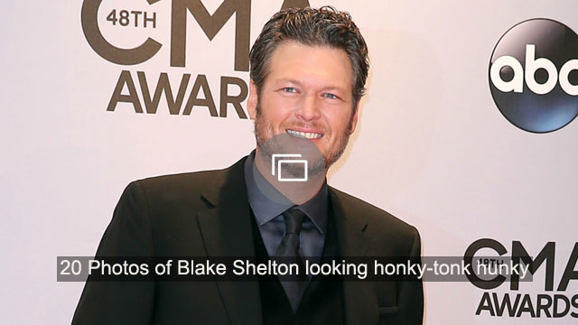 Man Crush Monday: 20 Photos of Blake Shelton looking honky-tonk hunky
