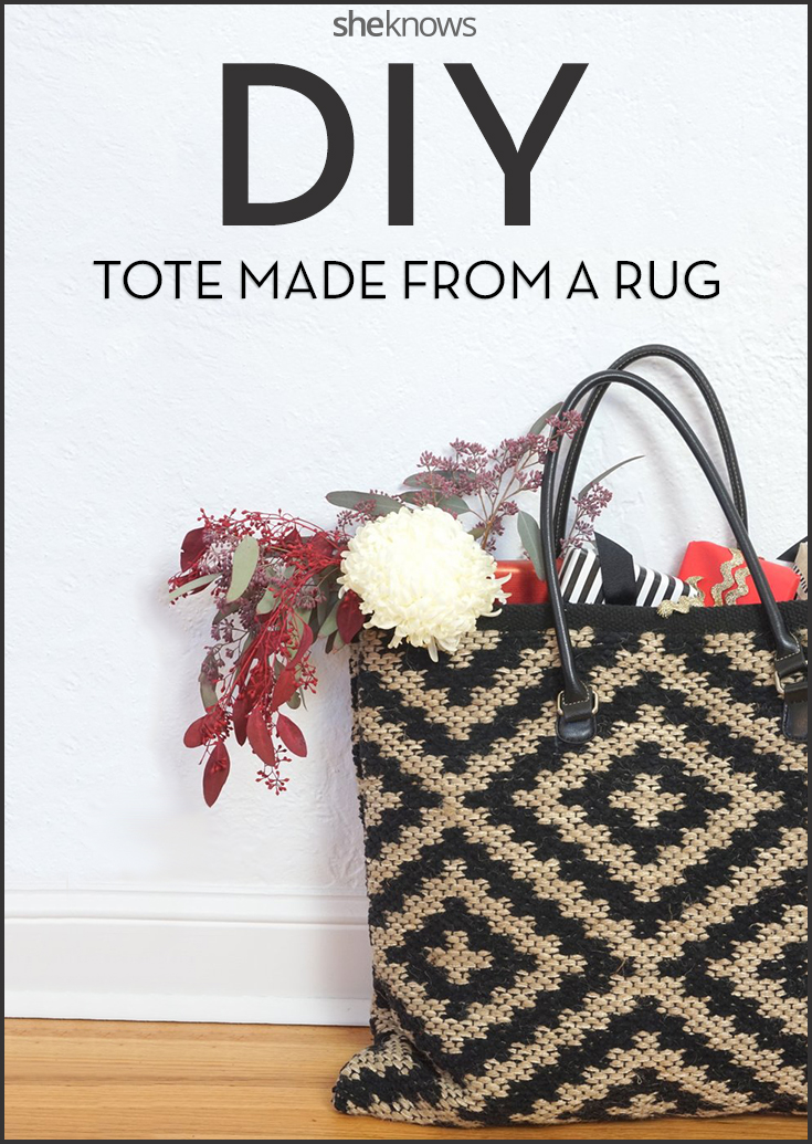 DIY an oversized tote