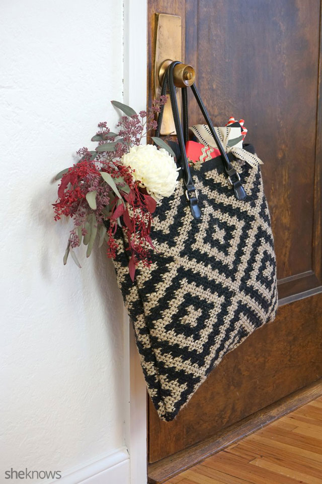 DIY an oversized tote: Finished 1