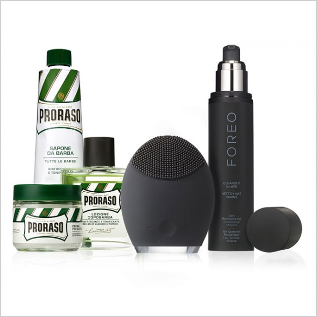 6. Boyfriend/Husband: Foreo Luna for Men Ultimate Grooming Collection with Proraso