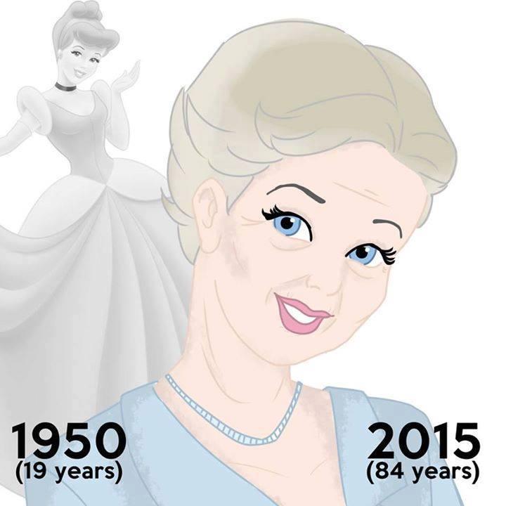 Cinderella aged 84