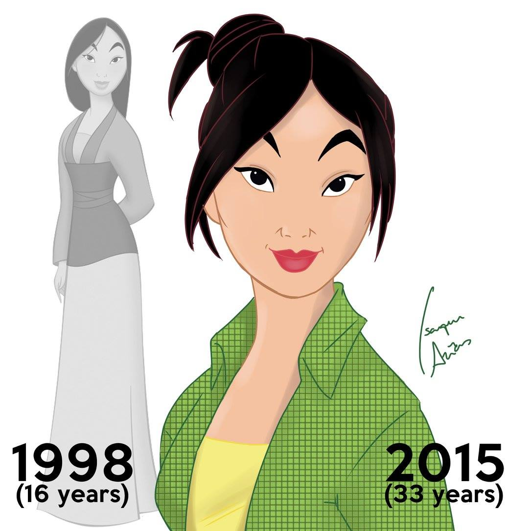 Mulan aged 33