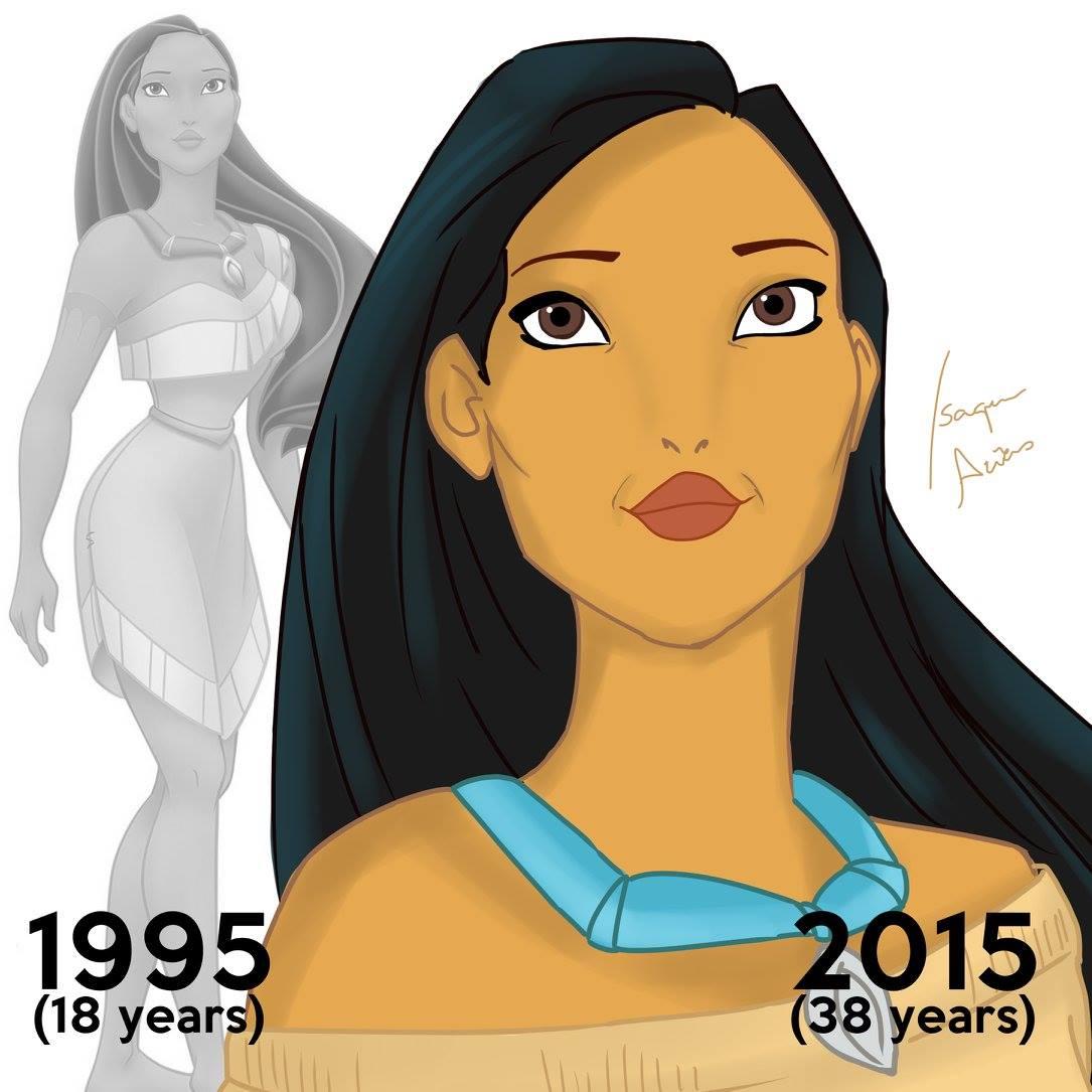 Pocahontas age 38