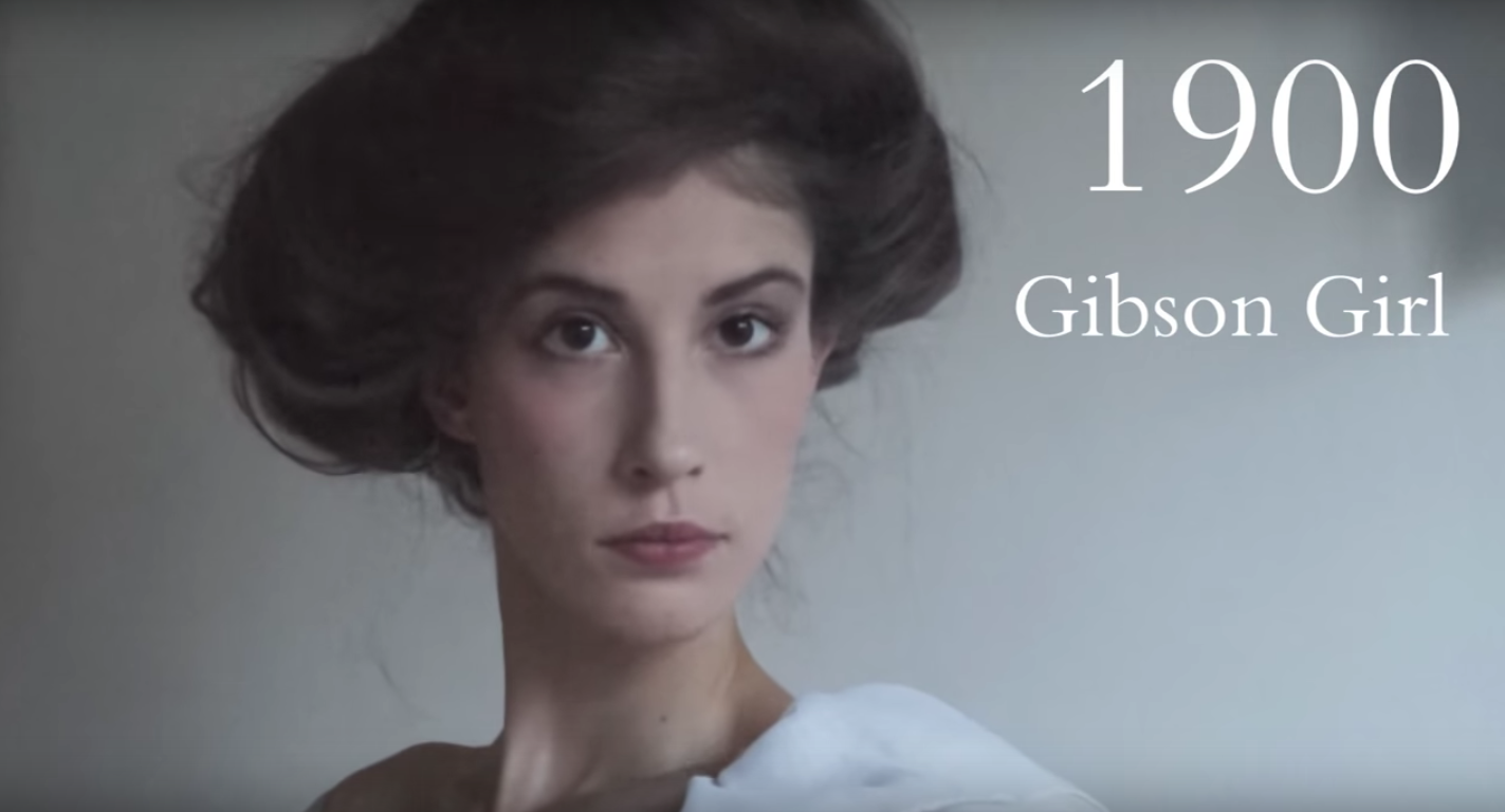 Realistic beauty through the ages video