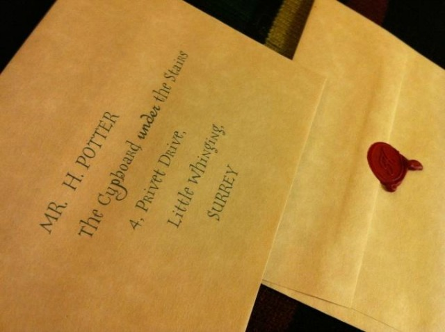 A Hogwarts Acceptance Letter Is The Perfect Surprise For