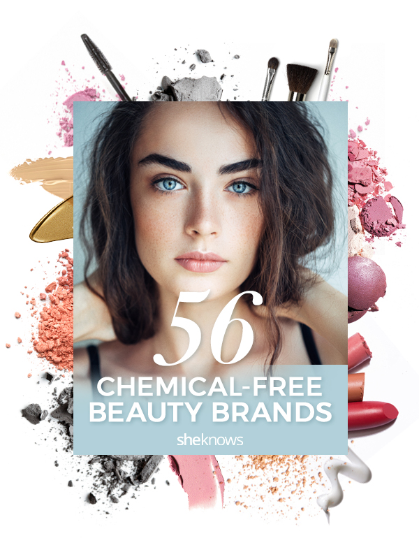 Chemical free beauty products