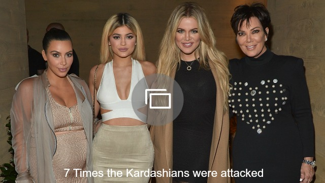 kardashians attacked slideshow