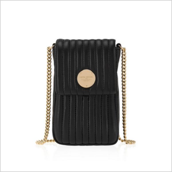 Henri Bendel No. 7 Quilted Phone Case Crossbody