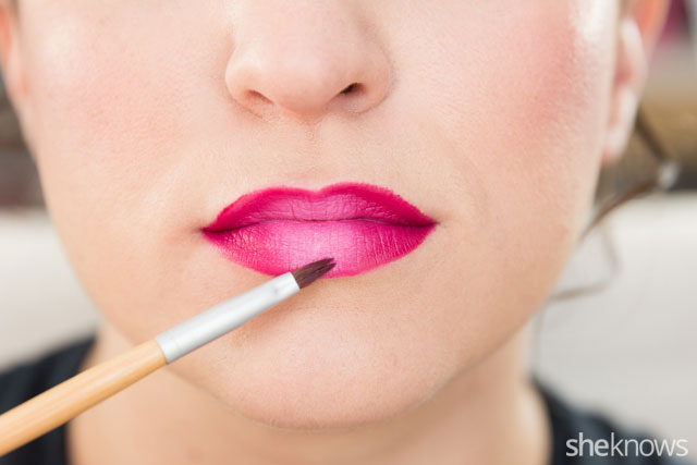 Master a trendy ombre lip in 5 easy steps: Step 5