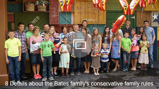The Bates family may be super conservative, but that doesn't mean education isn't important to them