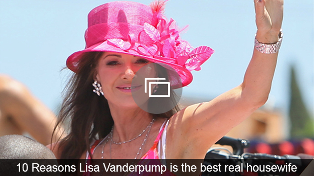 Lisa Vanderpump thinks it's time to put the drama behind her, and one Real Housewives star is to blame