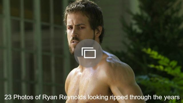 ryan reynolds ripped slideshow
