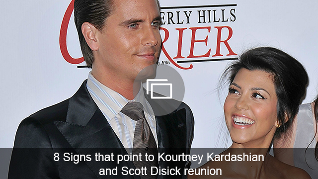 Scott Disick & Kourtney Kardashian are hanging out again, so, could this mean what everyone thinks it does?