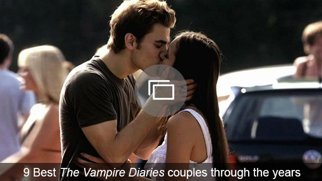vampire diaries couples slideshow