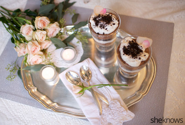 Boozy triple chocolate trifles take the stress out of Valentine's Day ...