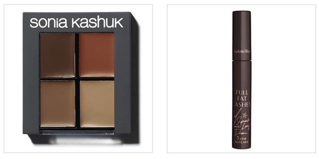 Sonia Kashuk Arch Alert Brow Kit and Charlotte Tilbury Full Fat Lashes Mascara