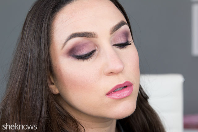 Simple date night makeup tutorial: Finished look