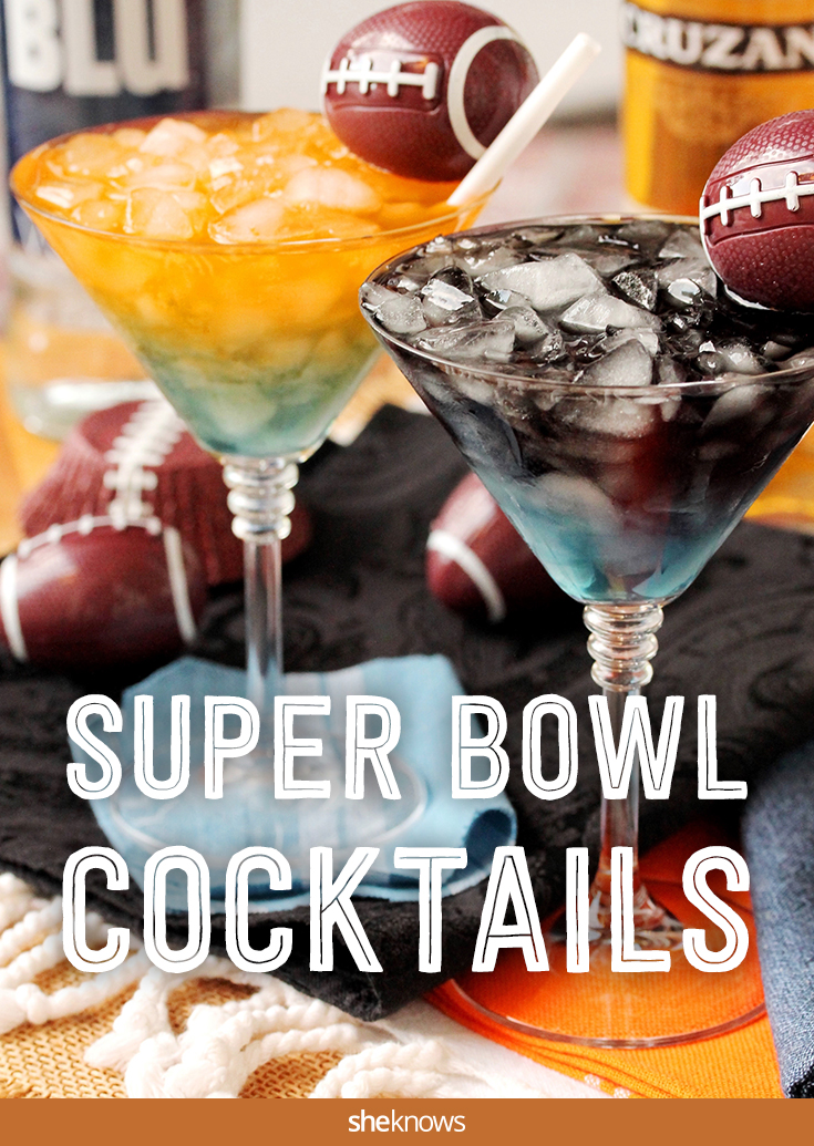 Super Bowl 50 Cocktails Broncos Vs Panthers