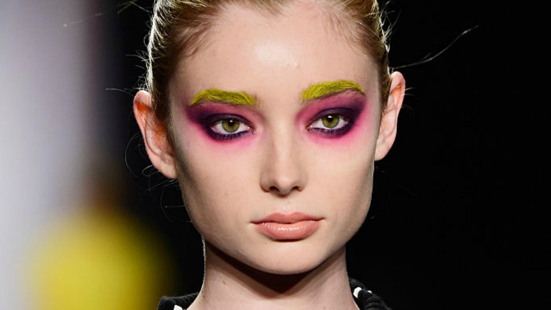 Graphic eyeshadow trend 2016