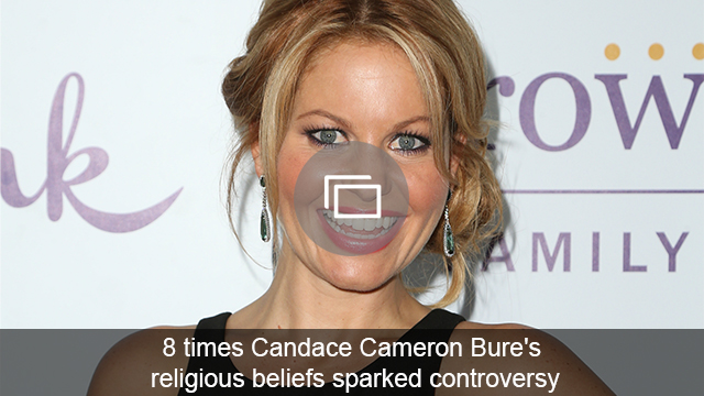 Candace Cameron Bure finally addresses fellow Christians who are bashing her 'inappropriate' TV decisions