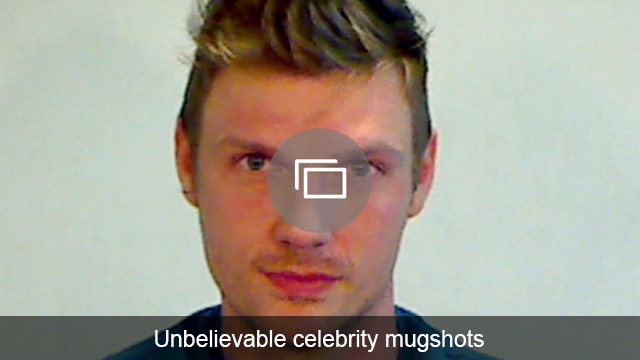 celeb mug shots slideshow
