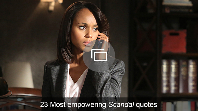 Don't forget — Olivia Pope had an abortion last year, so will Kerry Washington's pregnancy force a Scandal baby?