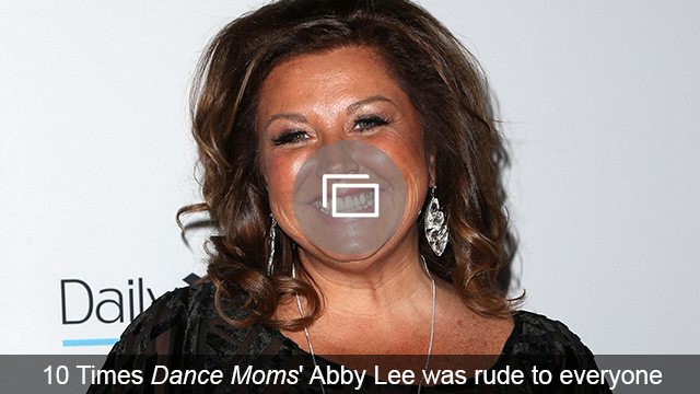 Abby Lee Miller offered something other than drama during the Dance Moms reunion