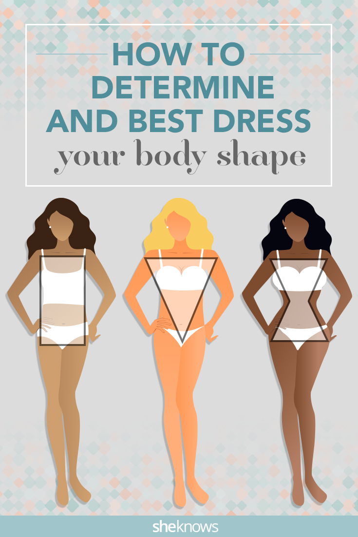 Apple, pear, hourglass and ruler body shapes are finally defined