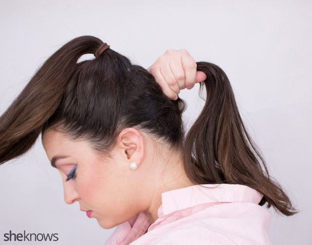 The ponytail hairstyle trick 2