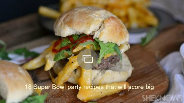 Easy, gourmet apps for your football party