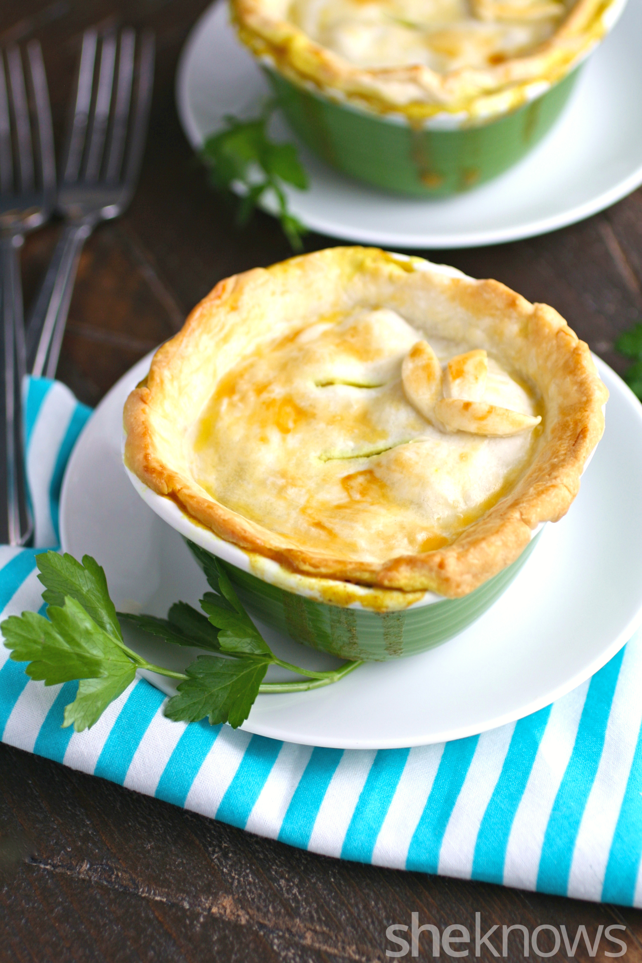 Moroccan-style chicken potpies: A comfort food favorite ...