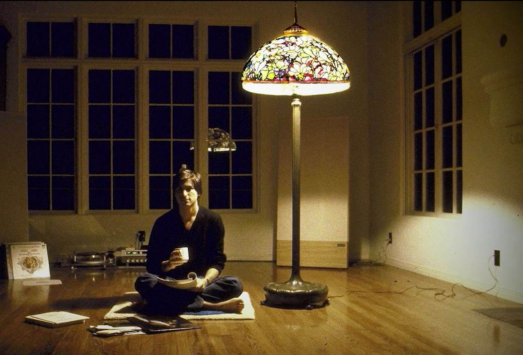 Steve Jobs And Tiffany Lamp December 1982