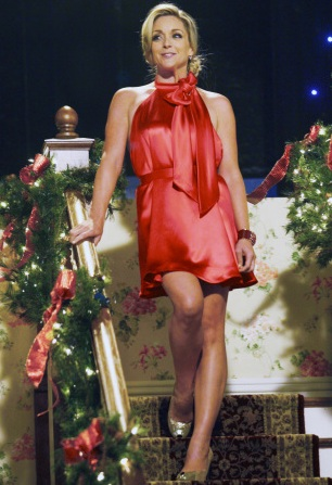 Jane celebrates Christmas on 30 Rock