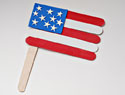 American flag crafts for kids to celebrate Uncle Sam