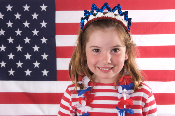 children voting rights political fodder enjoy festivities peace innocence Children on 4th of July
