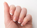 A french manicure tutorial you can do at home to save at the salon
