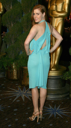 Amy Adams, nominee for Doubt, at the Oscar nominee luncheon